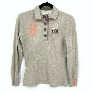 Tom Joule Polo Slim Fit Long Sleeve Polo Shirt
